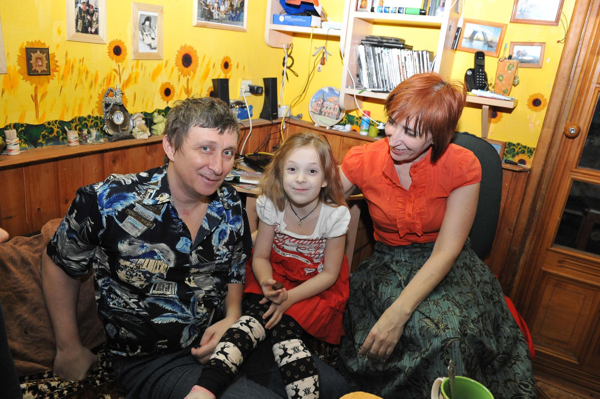 Фото олега белова с детьми